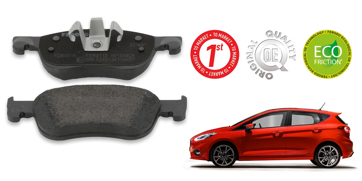 Genuine Ferodo Rear Premier Brake Pads FDB4178